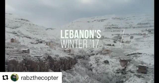 🇱🇧 Bom dia! Este é o Líbano dando as boas vindas ao inverno! ☃️ Repost @r (Kfardebian,Mount Lebanon,Lebanon)