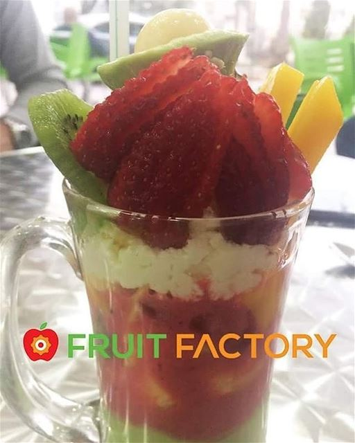 Repost @fruitfactoryleb・・・Order Now 81 777 504 refreshing  fruity ... (Fruit Factory)