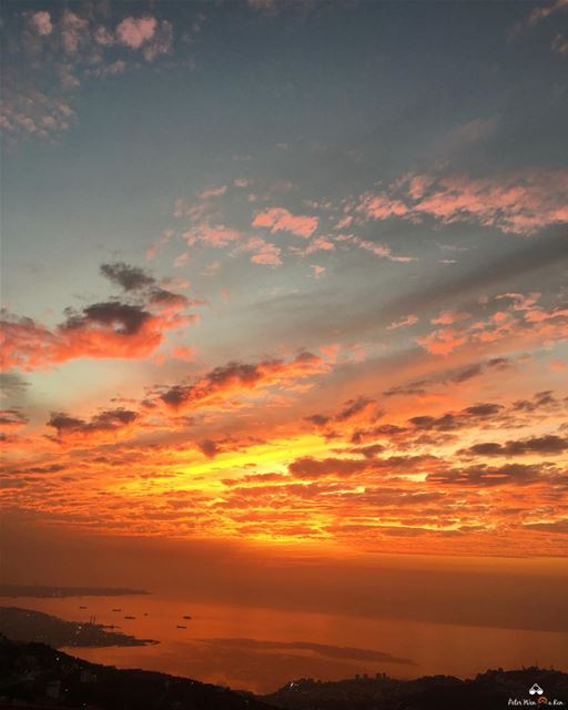 Sunset 🌅 is wonderful opportunity for us to appreciate all the great... (Lebanon)