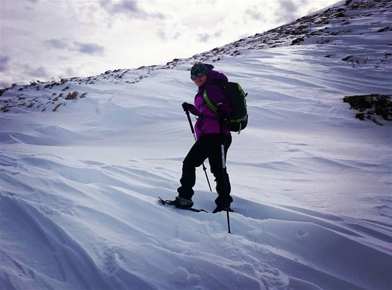 bestofleb nature adventure snowshoeing snow bestoflebanon lebanon faraya...