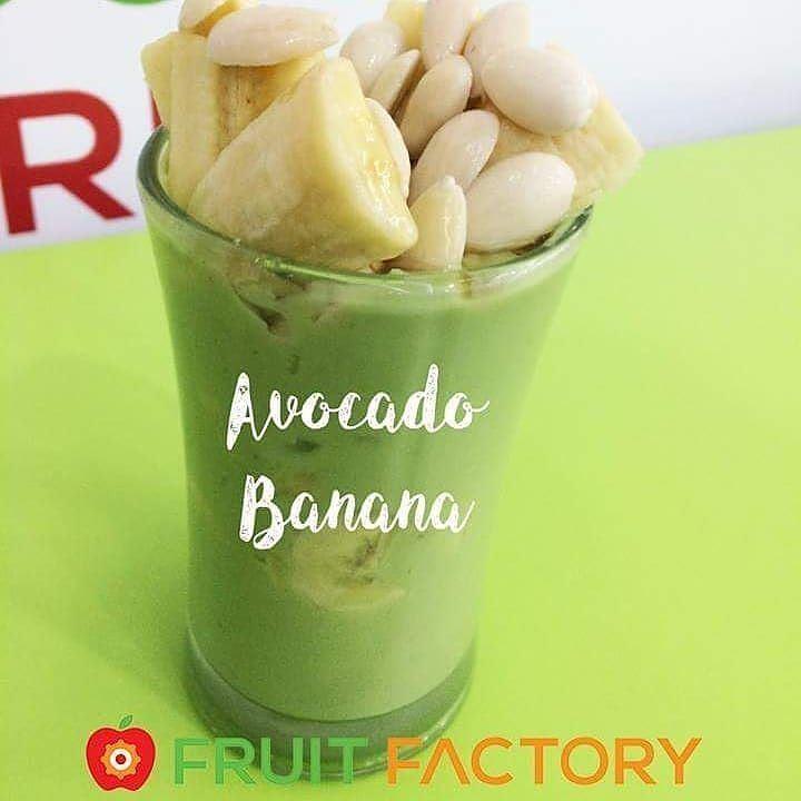 Repost @fruitfactoryleb・・・The Perfect Combination Avocado-Banana Order... (Fruit Factory)