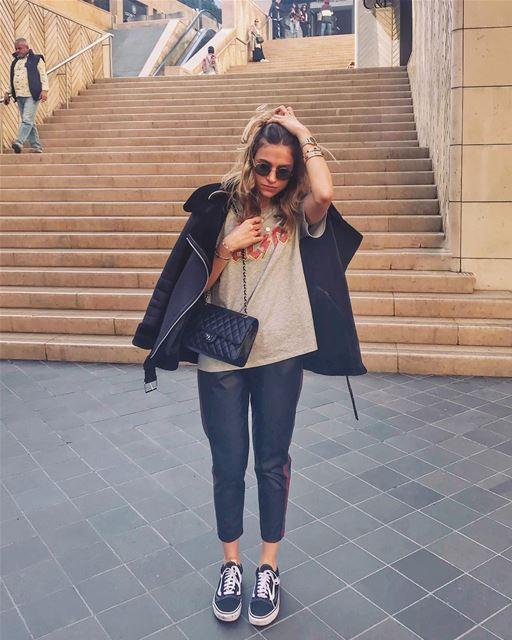 20 degrees and loving it 🎈☀️ beautifullebanon .. paris parismonamour ... (Beirut Souks)