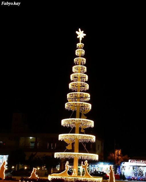christmas libano MerryChristmas happy holidays holidayseason... (Tabarja)