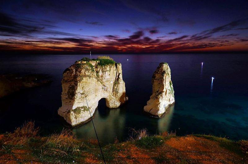 Magical Sunset 🌅 ⛰🇱🇧🏔 livelovebeirut lebanonspotlights wearelebanon ... (Beirut, Lebanon)