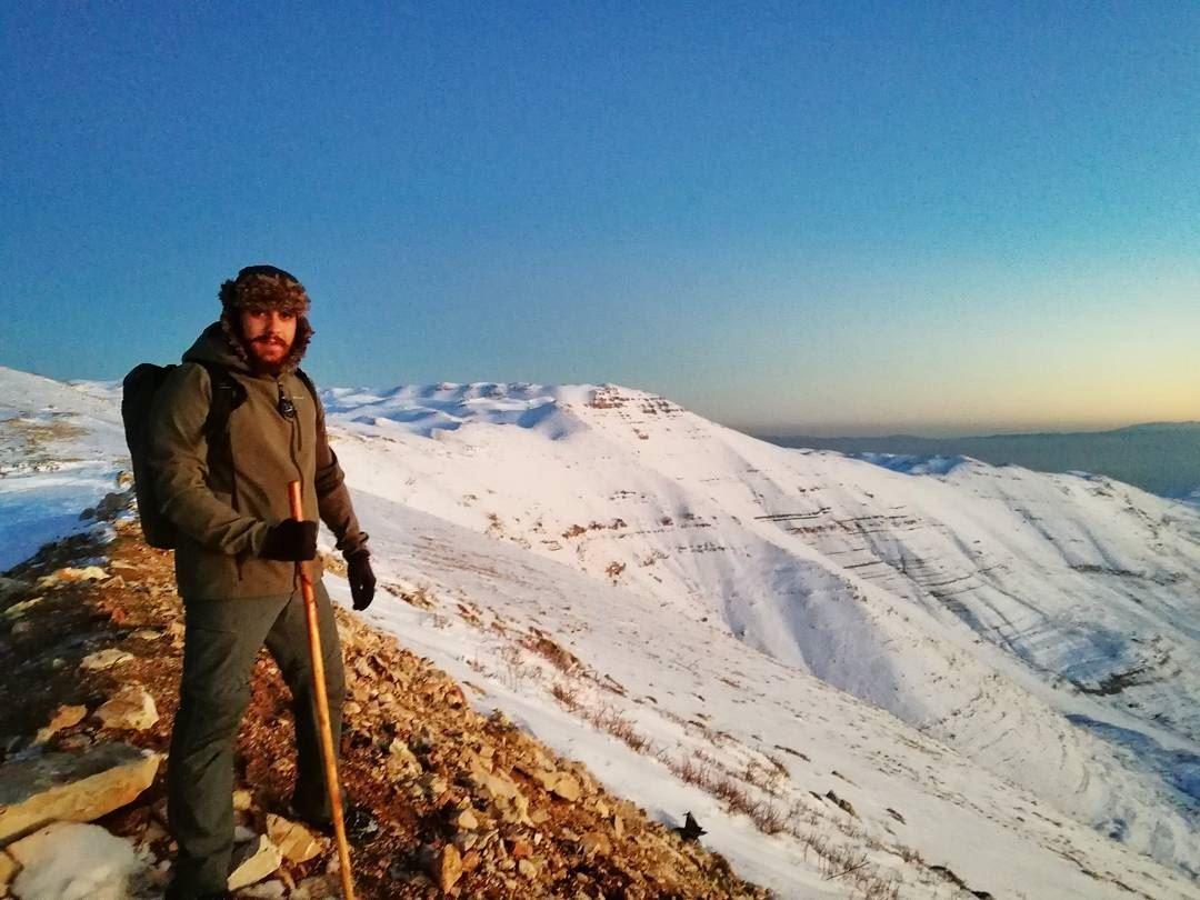 """""""Adventure is worthwhile..... hike hiking adventure live love ... (Mount Sannine)"""