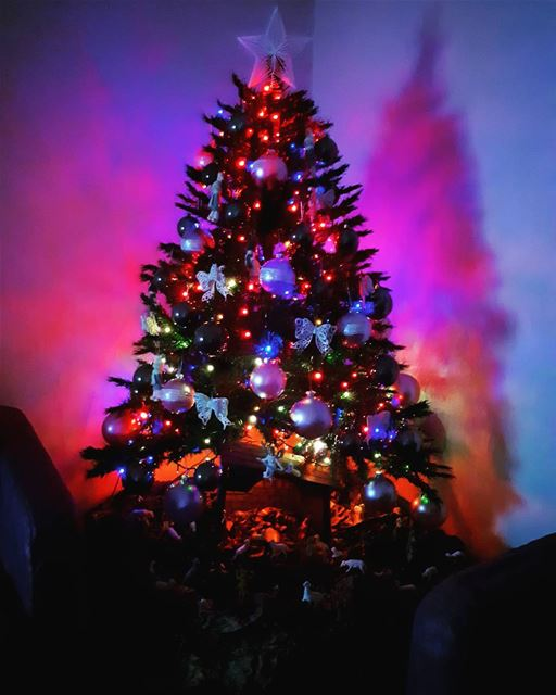 magical ☄ christmastree 🎄 jesuswasborn home decoration christmas ... (Zouk Mosbeh)
