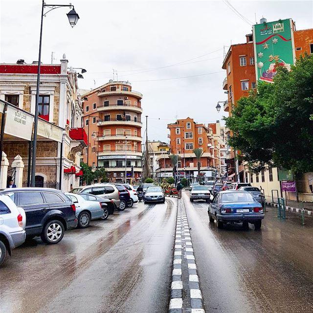 Day 1 2018🇱🇧🍁 northlebanon rainyday newyear street roadtrip ... (Tripoli, Lebanon)