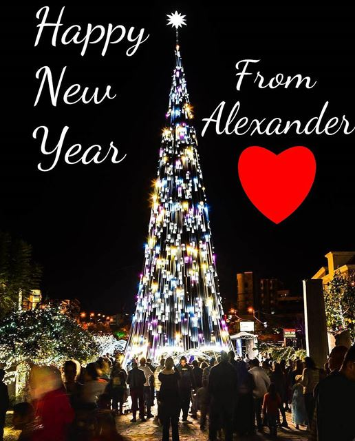 Wish you all a Happy new year full of Joy, Love and Peace! God bless you... (Lebanon)