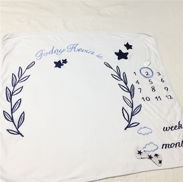 Reach for the stars 🌟 photobooth blanket 📸 Write it on fabric by nid d'ab