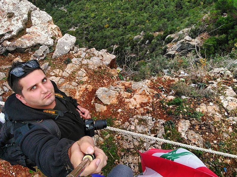 nikonlebanon shooting photography nikon selfie mountain hiking ... (Bisri, Al Janub, Lebanon)