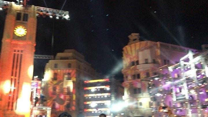 downtown beirutcelebrates2018 newyear2018 ... (Downtown Beirut)