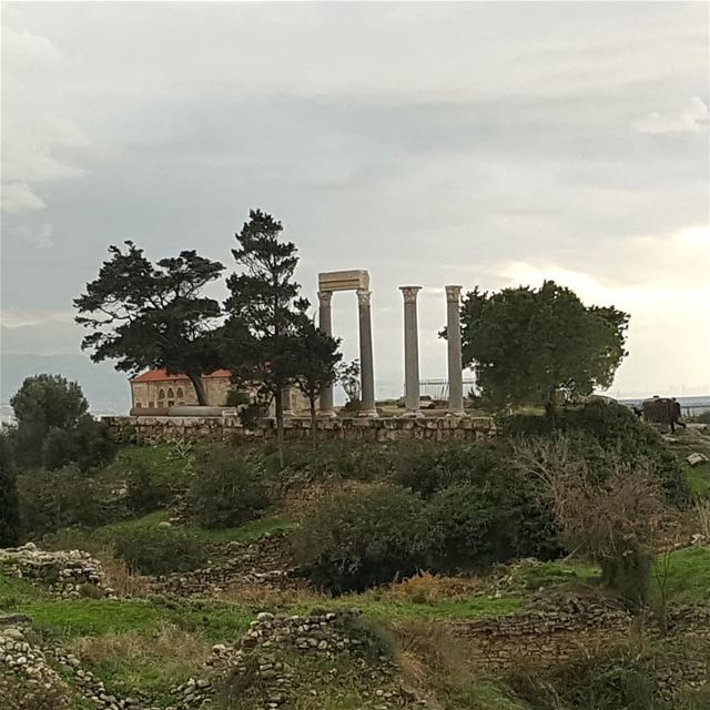 byblos livelovebyblos جبيل castle phenicians ... (Byblos Castle)