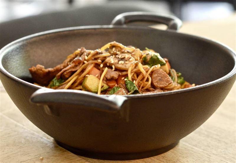 *Send me nudes* 🍲📲 Akayy ...... noodles noodz lebanon yummy ... (the spoonteller)