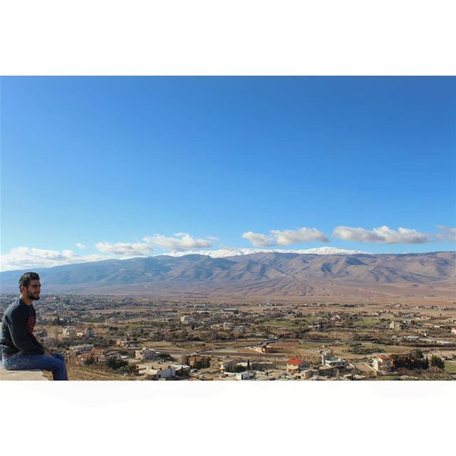 Somewhere On Your Journey Don't Forget To Turn Around And Enjoy The View!... (Ras Baalbek)