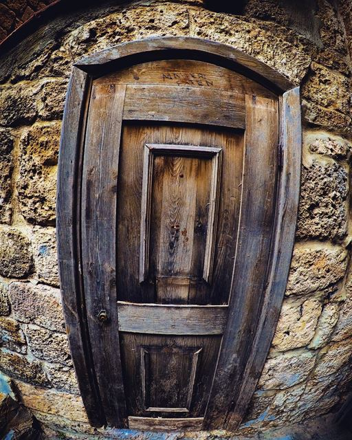 "Alice: ""How long is Forever?""White Rabbit: ""Sometimes, just one second.""🚪 (Byblos - Jbeil)"