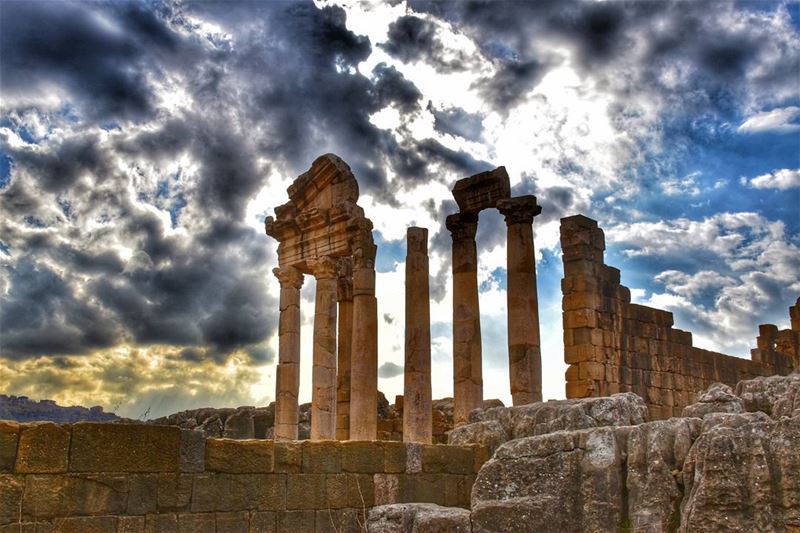 lebanon beirut faqra ruins photography clouds livelovelebanon ...