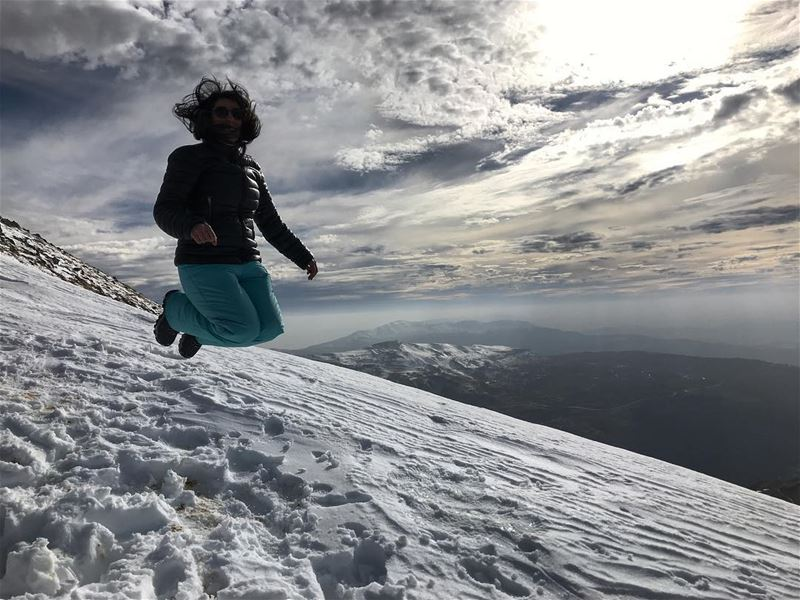 To more outdoor experiences and adventures 🤙🏻🤙🏻🤙🏻 (Mzaar Kfardebian)
