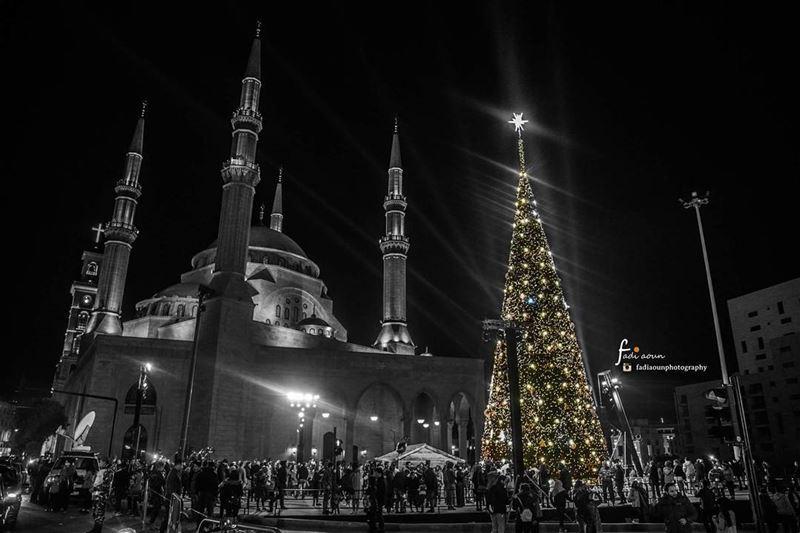 photo fadiaounphotography beirut lebanon happynewyear 2018 mosque ...