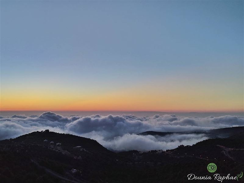A bed of clouds for you to sleep ☁️...Huawei Nexus 6P Phone...... (Lebanon)