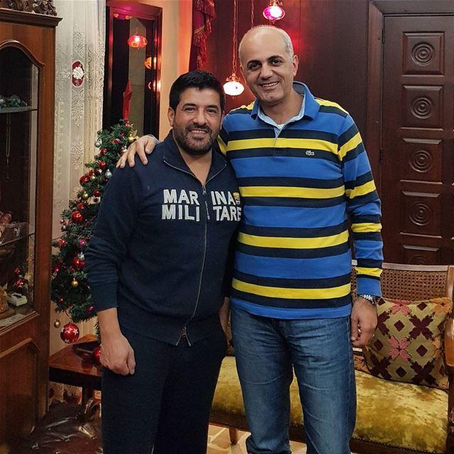 زيارة خاصة للصديق والفنان الراقي رضا. lebanon singer famous dubai zahle... (Aley District)