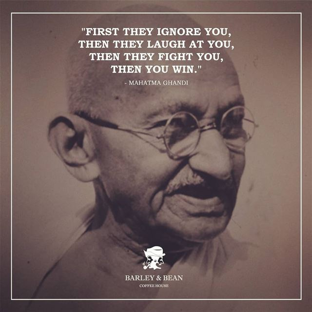 Mahātmā Mohandas Karamchand Gandhi was an Indian activist who was the...