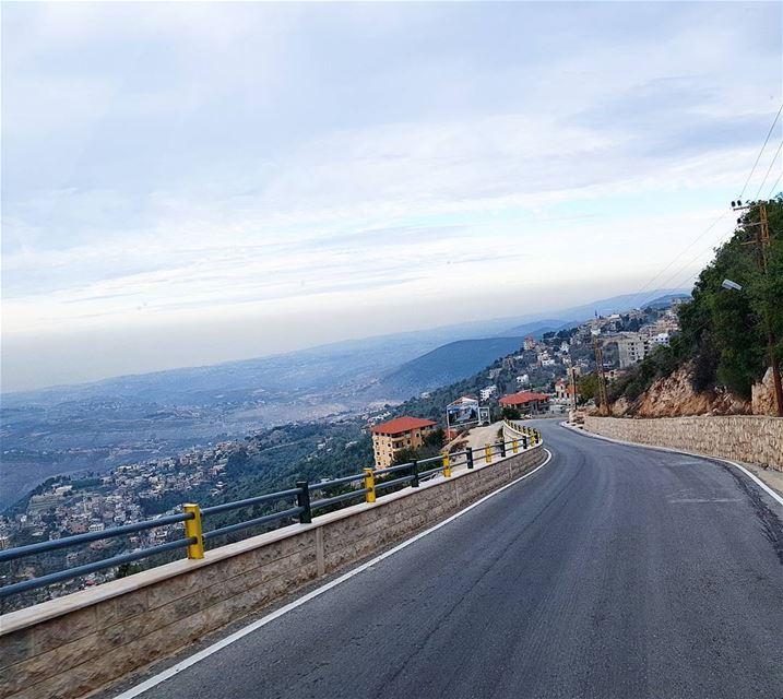 adventure trip roadtrip view mountains road goodvibes ... (Lebanon)