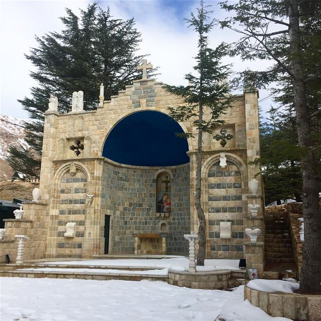 lebanon cedars beautiful ig_lebanon alter snow cross ... (Cedars of God)
