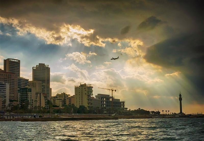 The arrival... shot in beirut lebanon manara corniche livelovebeirut ...