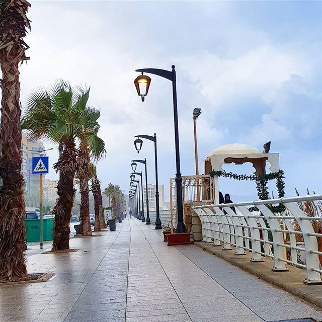 Cold morning🇱🇧🇱🇧 rainyday coldweather streetlamp wet bestofday ... (Beirut, Lebanon)
