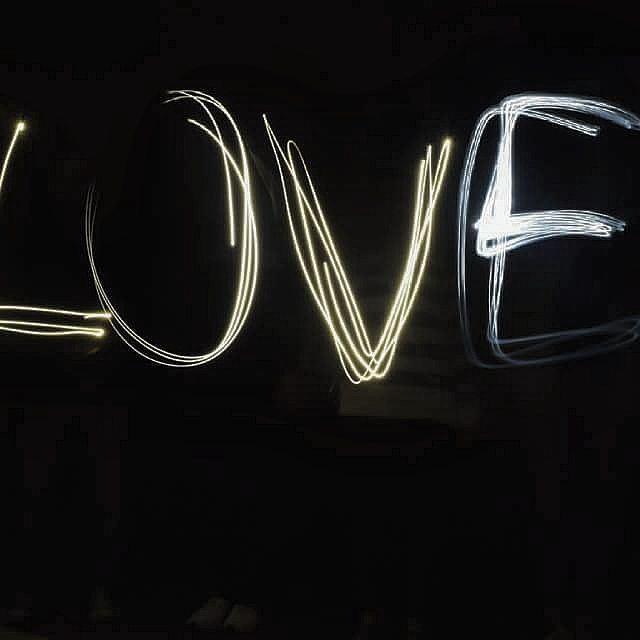 L O V E ❤ lightgraffiti love lights newresolution oldbutgold ...