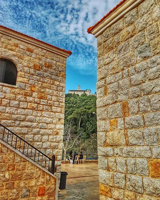 Mar chaaya monastery marchaaya monestary brummana lebanon ... (Ferme Mar Chaaya)
