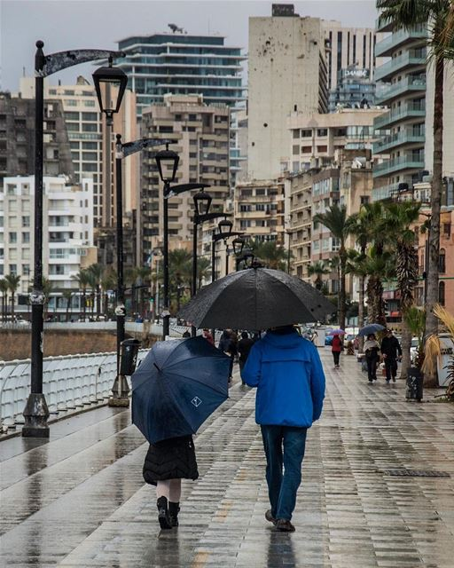 Winter walk... from the beirut seaside lebanon streetphotography ...