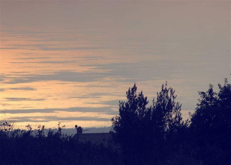 picoftheday world lebanon beirut mountain high sea trees sunset timing...