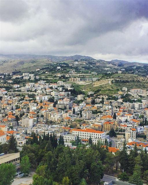 Morning from Zahlé 😃 lebanon zahle bekaa village morning ... (Zahlé, Lebanon)