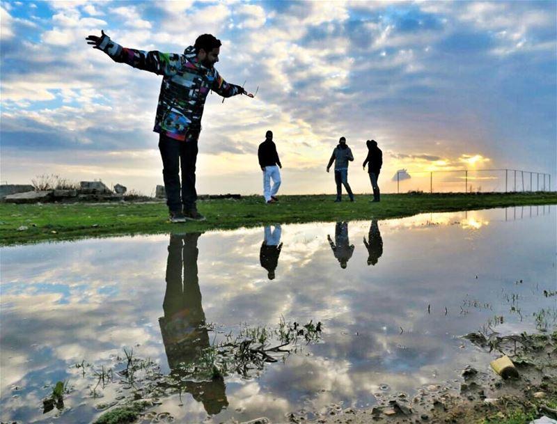 I Walk on Water, But i Ain't No Jesus 🧞♂️ ExploreWithChris. followme ... (El Kfour, Mont-Liban, Lebanon)