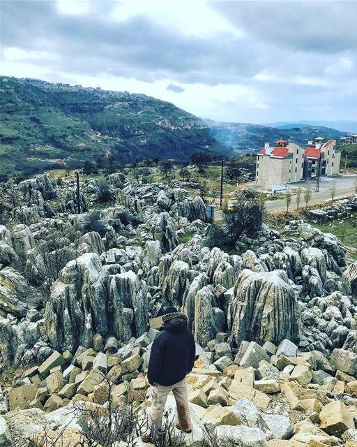 All these rocks but my heart's always soft😪📸: @melissaiskandar_ ....... (Faqra (fornlämning i Libanon, lat 34,00, long 35,81))
