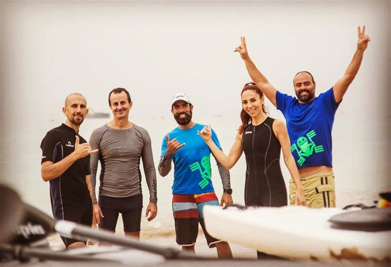 Tune in tomorrow at 10:40am on @mtvlebanon and watch some Surfski action!!...