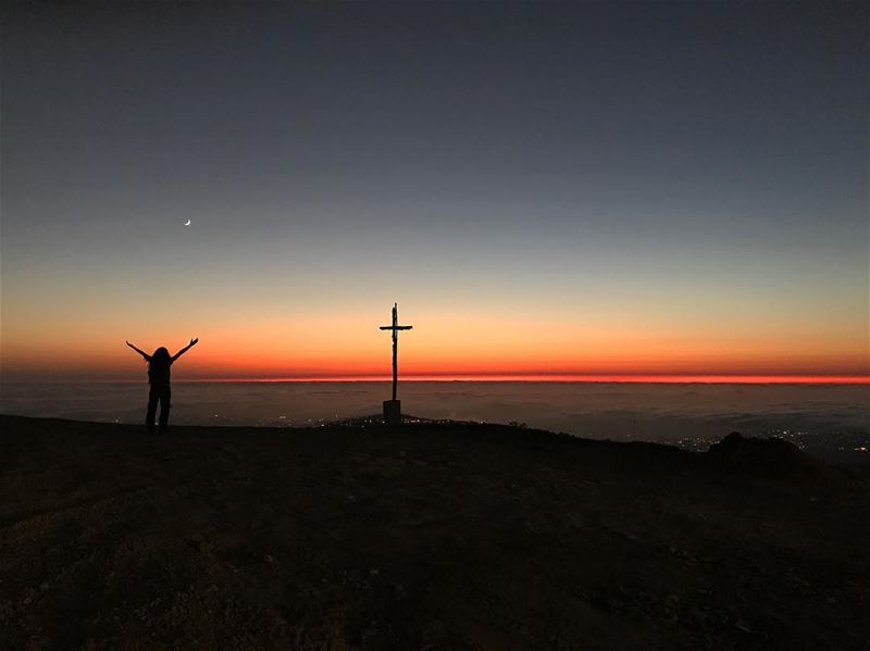 No matter how hard your day was; a sunset has the power to end it... (Ed Douâr, Mont-Liban, Lebanon)