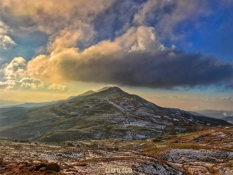May your dreams be larger than mountains and may you have the courage to... (Mount Sannine)