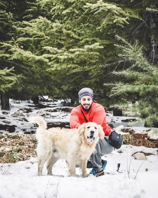Snowy adventurers with Gold 🌟♥️ ...... lifeofadventure ... (Lebanon)