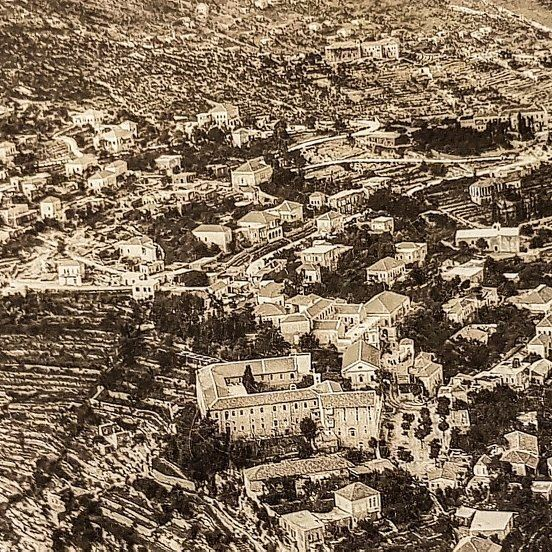 88 years ago french airforce took this shot wanna check with my tiny drone... (Ghazir, Mont-Liban, Lebanon)