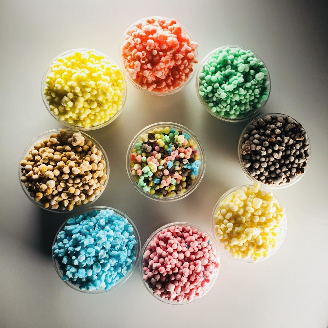 Start Your Weekend With A Colorful Treat @tinymelts. tinymelts icecream... (Tiny Melts)