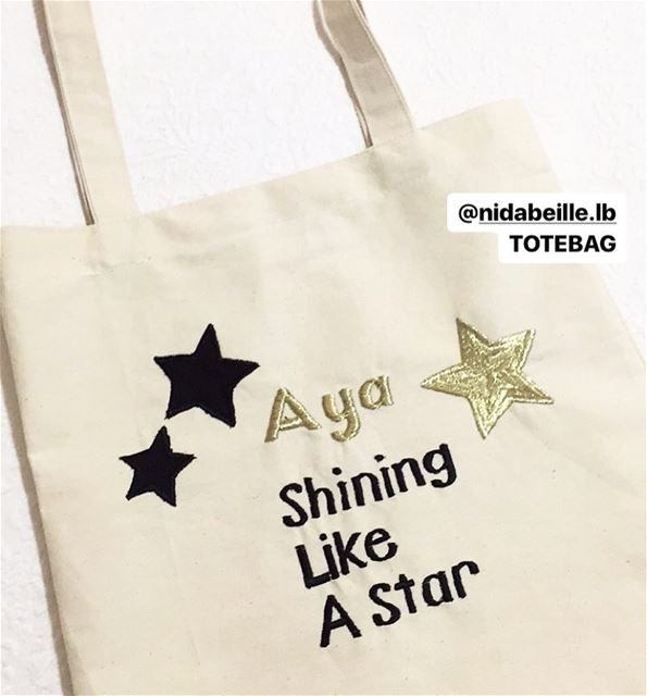 🌟she leaves sparkle wherever she goes! Write it on fabric by nid d'abeille