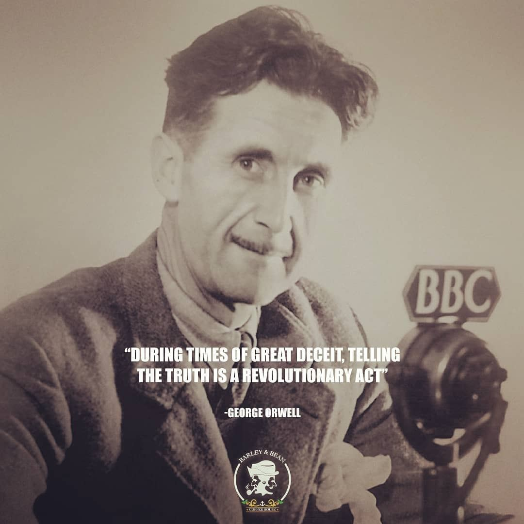 a biography of george orwell a pen name of eric arthur blair Eric arthur blair (better known by the pen-name george orwell) was born on  thursday, june 25, 1903 you are here calendar » birthday general about us .