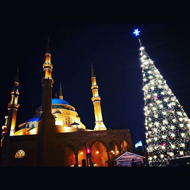 Beirut Nights 💟✝️☪️☮️ livelovelebanon ... (Beirut, Lebanon)