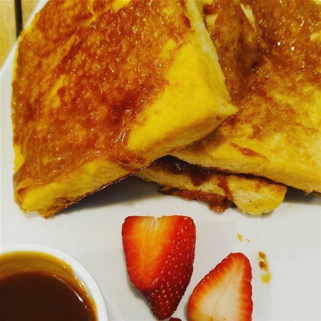 Good morning sweet lovers painperdu love yummy staywarm behappy ...