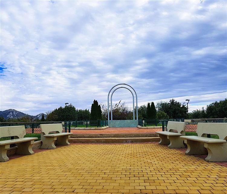 🇱🇧🇱🇧🇱🇧❤❤ park clouds discoverlebanon beautifulview ... (Mleeta Tourist Landmark)