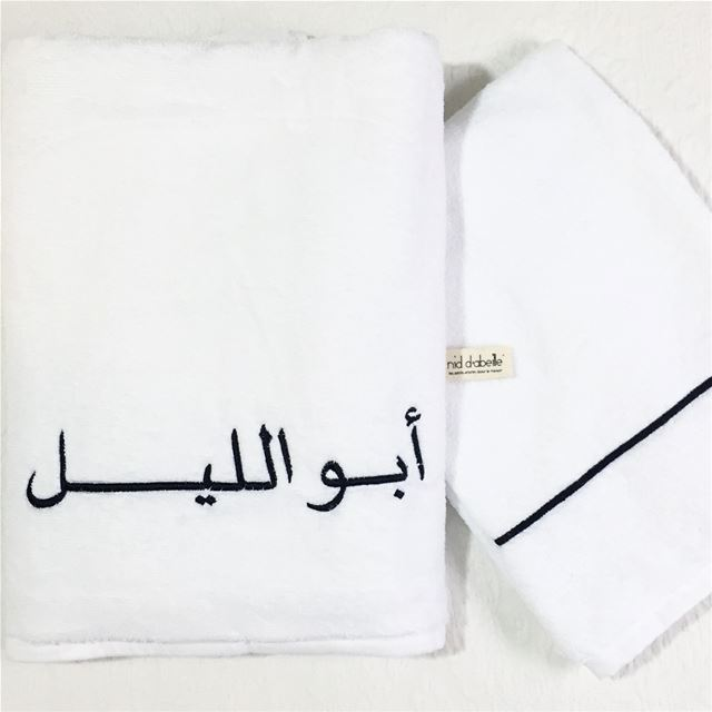 Luxury linen 🎱 Write it on fabric by nid d'abeille  blackandwhite  luxury...