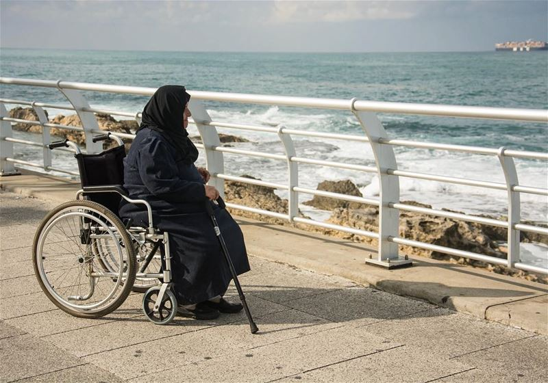 Hope... from beirut seaside lebanon a sweet oldlady challenging her...