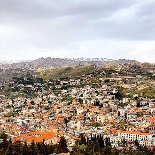 Zahle lovely city. zahle zahleh lebanon mountains snow village... (Zahlé, Lebanon)